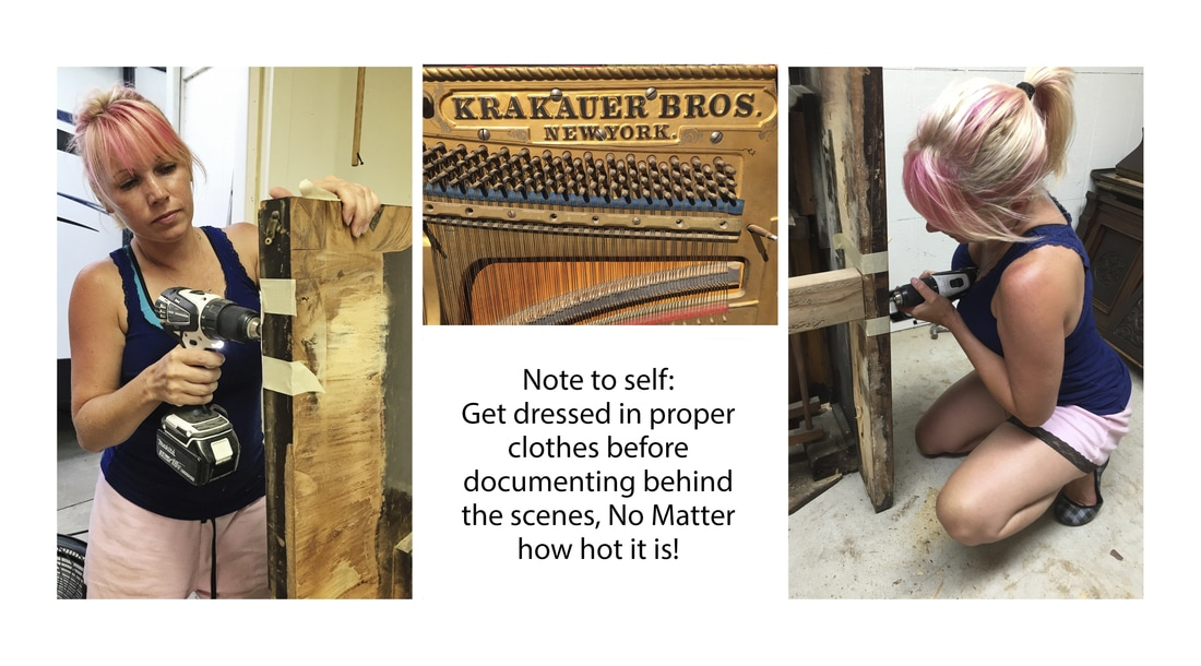 behind the scenes DIY antique piano hampstead photographer camden notting hill holland park mayfair london shoredtich
